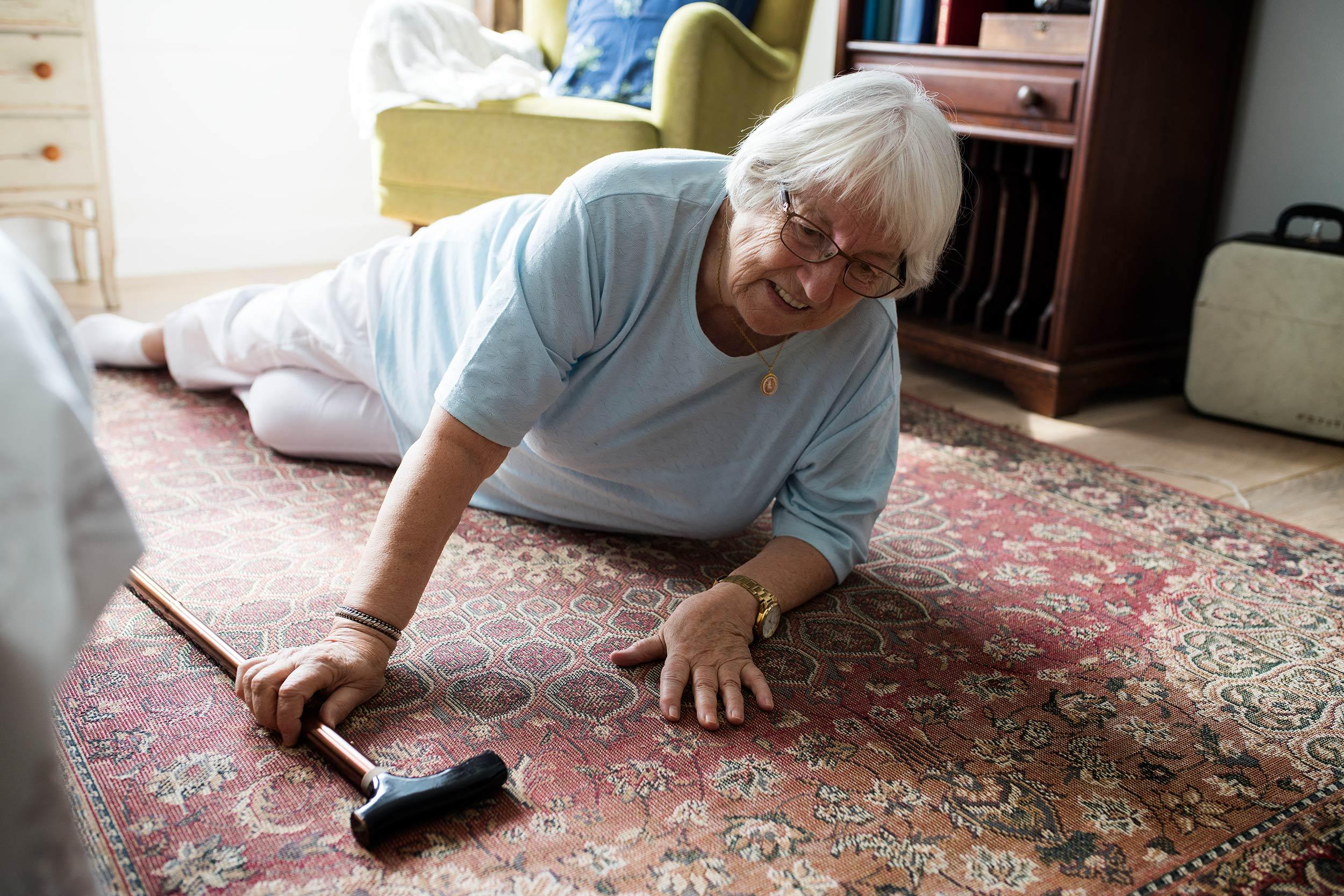 chutes des personnes âgées